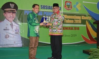 Wabup Amin Lasena : Akui Strategis Penurunan Stunting Di Kabupaten Gorontalo Patut Di Tiru