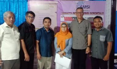 Dewan PERS Verifikasi SMSI Dan Media Online Di Provinsi Gorontalo