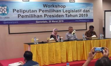 Dewan PERS Indonesia Lakukan Workshop Di Provinsi Gorontalo
