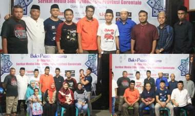 SMSI Lakukan Buka Puasa Bersama Di Hadiri Oleh Ketua PWI Provinsi Gorontalo