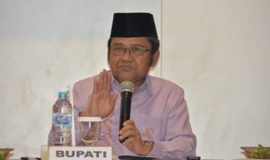 Buka Rakor SKPG Tahun 2019, Bupati Gorut Indra Yasin:  Minta Pangan Bagi Masyarakat Harus Terjaga