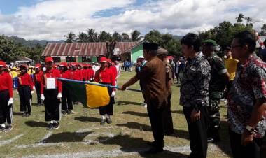 Pemerintah Kabupaten Bolaang Mongondow Timur Menggelar Lomba Gerak Jalan