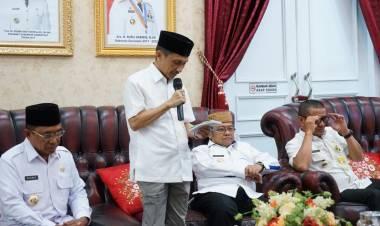 Di Rudis Gubernur Gorontalo, Sang Profesor  Audenci Dengan Pimpinan KPK RI