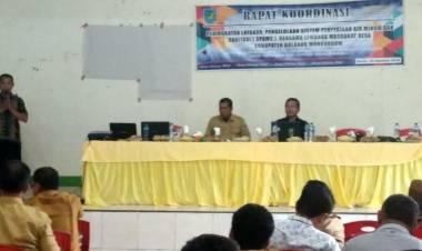 Dinas P3MD Bolmong Gelar Rakor  SPAMS