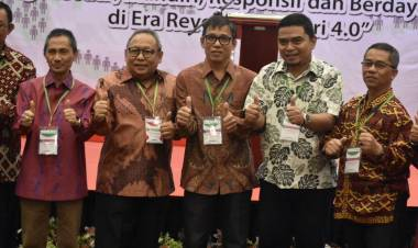 Sang Profesor Hadiri Munas KKI IV Tahun 2019