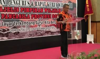 Tak Ada Kata Redup Bagi Pemuda Pancasila, Syarif Mbuinga : Harus Jaya Dan Besar Di Provinsi Gorontalo