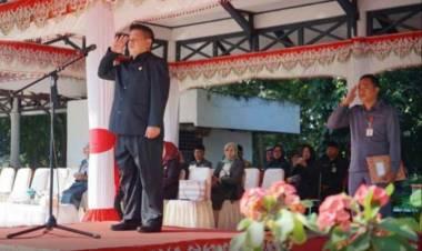 HUT Ke 55 Tahun Sulut, Wawali Kotamobagu Pimpin Upacara