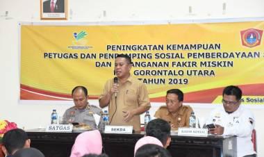 Penyaluran BPNT Harus Berdasarkan 6 T, Sekda Ridwan Yasin : Jika Tak Ingin Masuk-Nya Aparat Penegak Hukum