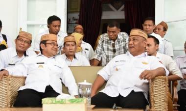 Terkait Tapal Batas Gorut-Buol, Bupati Indra Yasin : Semoga Wakil RakyatGorontalo di DPR-MPR RI Dapat Membantu