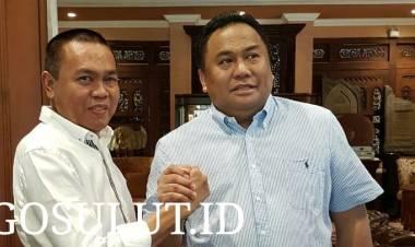 Wakil Ketua DPR-RI Rachmad Gobel Percayakan Aset Partai Untuk Layani Rakyat Gorontalo Pada Rustam Akili