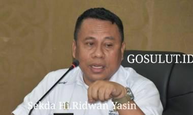 Sekda Hi.Ridwan Yasin Pimpin Rapat Persiapan POR KORPRI Ke-48