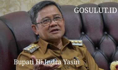 Bupati  Hi.Indra Yasin Ucapkan Selamat Atas Perubahan Status STIA Bina Taruna Gorontalo