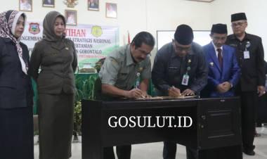 Pemerintah Kabupaten Gorontalo Lakukan Pelatihan Dan Pengembangan Penyuluhan Pertanian