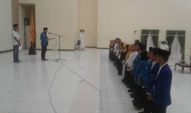 Pengurus Cabang PMII Masa Khidmat 2019-2020 Yang Di Pimpin Reynaldi Ahmad, Resmi Di Lantik Sekretaris Jenderal PB-PMII