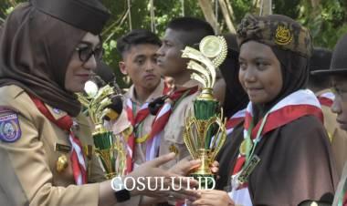 Kema Bakti Gemilang Tahun 2019 Berakhir,  Fory Naway : Pramuka Kabupaten Gorontalo Lebih Maju dan Jaya