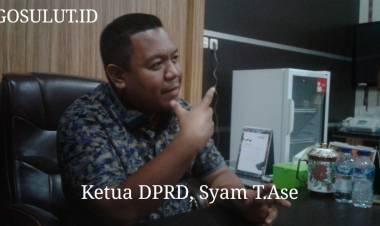 Ketua DPRD, Syam T. Ase Resmi Laporkan 2 Media Online Di Polres Gorontalo