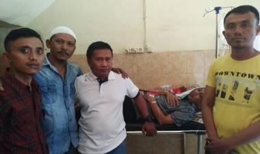 Diduga Akibat Karikatur Ketua DPRD Kabupaten Gorontalo, Rahmat Mamonto Di Aniaya