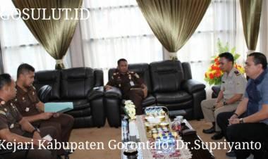 Dr. Supriyanto Dan Kepala Pertanahan Kabupaten Gorontalo Bahas Penyelamatan Aset Daerah dan Dukungan Investasi