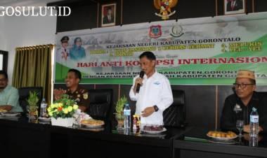 Pemerintah Daerah Kabupaten Gorontalo Dan Kejaksaan Negeri Kabupaten Gorontalo Bersatu Melawan Korupsi
