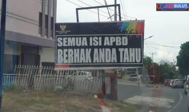 Pemandangan berbeda di ruas-ruas Kota Manado