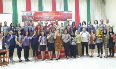 Jelang Legislatif Sulutgo Expo Ke- 8, Komisi I Hadiri Rapat Teknis