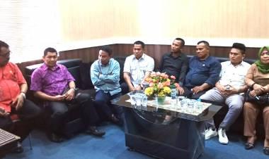 Ketua DPRD Boalemo Terima Kunjungan Komisi I Bonebolango