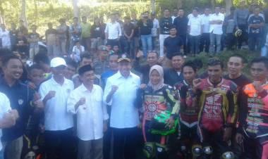 Kunjungi Sirkuit Sang Profesor, Menpora Zainudin Amali Apresiasi Kinerja Bupati Kabupaten Gorontalo Prof. Nelson Pomalingo