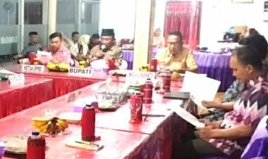 Bupati Boalemo Pimpin Rapat Koordinasi Pimpinan Daerah