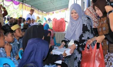 Idah Syahidah Rusli Habibie Ajak OPD Jum'at Barokah, Darda Daraba : Pemprov Gorontalo Siap Jadi Donatur