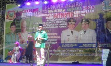 Meski Di Tanah Rantau KKIG Manado Tidak Lupakan Budaya Gorontalo,  Nelson Pomalingo : Saya Hadir Bukan Untuk Kampanye
