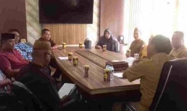 Sambangi Dinas Pertanian Provinsi Gorontalo, Komisi II DPRD Boalemo Sampaikan Keluhan Petani Jagung