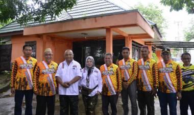 Wakil Walikota Pare-Pare Pangeran Rahim Sambut Gubernur Gorontalo Dalam Rombongan JWS 2020