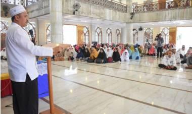 Sekda Husain Etango : Ajak Komunitas PPA Boalemo, Terus Membumikan Ilmu Tauhid Di Bumi Damai Bertasbih