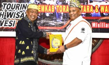 Gubernur Gorontalo Bersama Rombongan JWS Disambut Bupati Toraja Utara