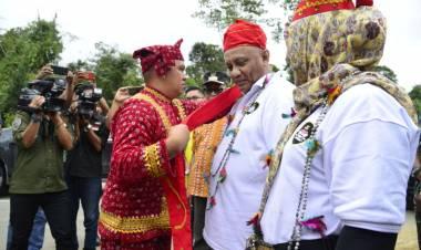 Wakil Bupati Poso Ir. Samsuri Sambut Gubernur Gorontalo Dalam JWS