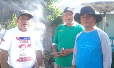 Tober Lihawa Ucapkan Terima Kasih, Kadis DLH Saiful Kiraman : Kambers Komunitas Yang Konsisten Dan Gemilang