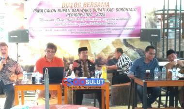 Komunitas Kambers Hadiri Dialog Bersama Para Calon Bupati Dan Wakil Bupati 2020-2024