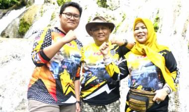 Rombongan JWS 2020, Berkah Pada Penjual Wisata Air Terjun Saluopa