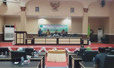 Wakil Ketua DPRD Boalemo, Lahmudin Hambali : Pimpin Rapat Paripurna Hasil Reses Masa Persidangan Ke-II