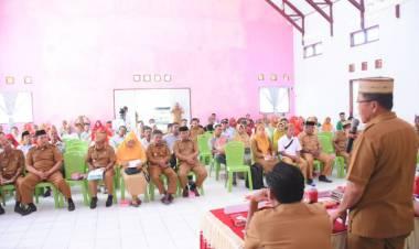 Buka Pelaksanaan Musrenbang,Wabup Anas Jusuf : Ajak Anggota DPRD Dapil Paguyaman Kawal Aspirasi Masyarakat