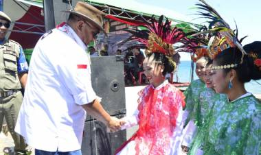 Bupati Bolsel Sambut Gebernur Gorontalo Dan Rombongan JWS 2020