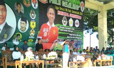 Demi Bakat Anak Muda Kabupaten Gorontalo, Nelson Pomalingo Bangun Sekolah Olahraga