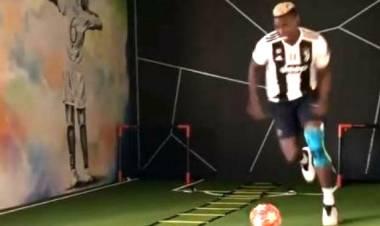 Ini Alasan Paul Pogba Latihan Pakai Jersey Juventus