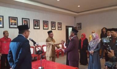 Wabup Anas Jusuf Lantik Pejabat Administrator dan Pengawasan di Lingkungan Pemkab Boalemo