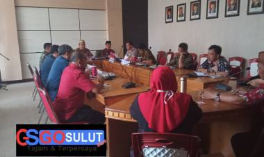 Wabup Anas : Pimpin Rapat Bersama Forkopimda Terkit Pencegahan Virus Covid-19