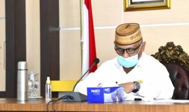Gubernur Rusli Habibie : JPS Bagi Warga Terdampak Virus Corona di Provinsi Gorontalo