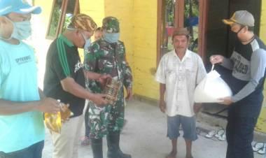 Cegah Covid-19, Desa Tridarma Salurkan Bantuan Dan Melakukan Penyemprotan Desinfektan