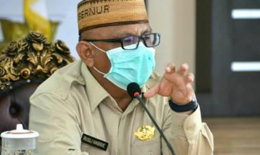 Demi Rakyat Gorontalo, Gaji Gubernur RH Disumbangkan Untuk Penanganan Virus Corona