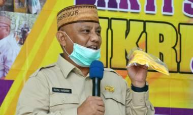 Gubernur Gorontalo Terus Kucurkan Bantuan Bagi Rakyat Terkena Dampak Virus Corona