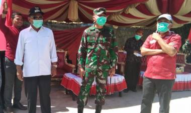 Ketua DPRD Eka Putra : Pembangunan Kodim Boalemo, Memberikan Jaminan keamanan Bagi Masyarakat